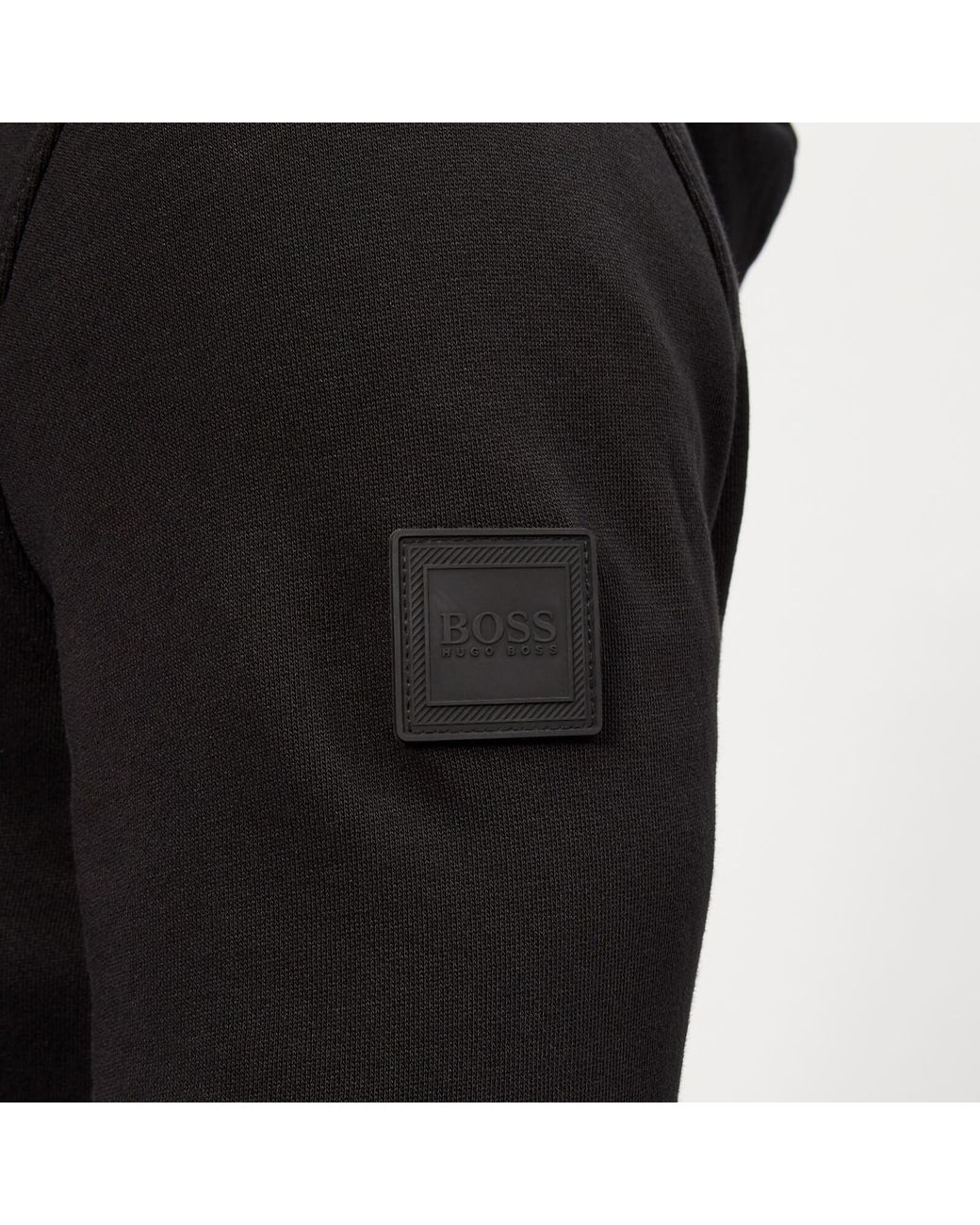 28721a8097ff4 BOSS Zounds Zip Hoodie in Black for Men - Lyst