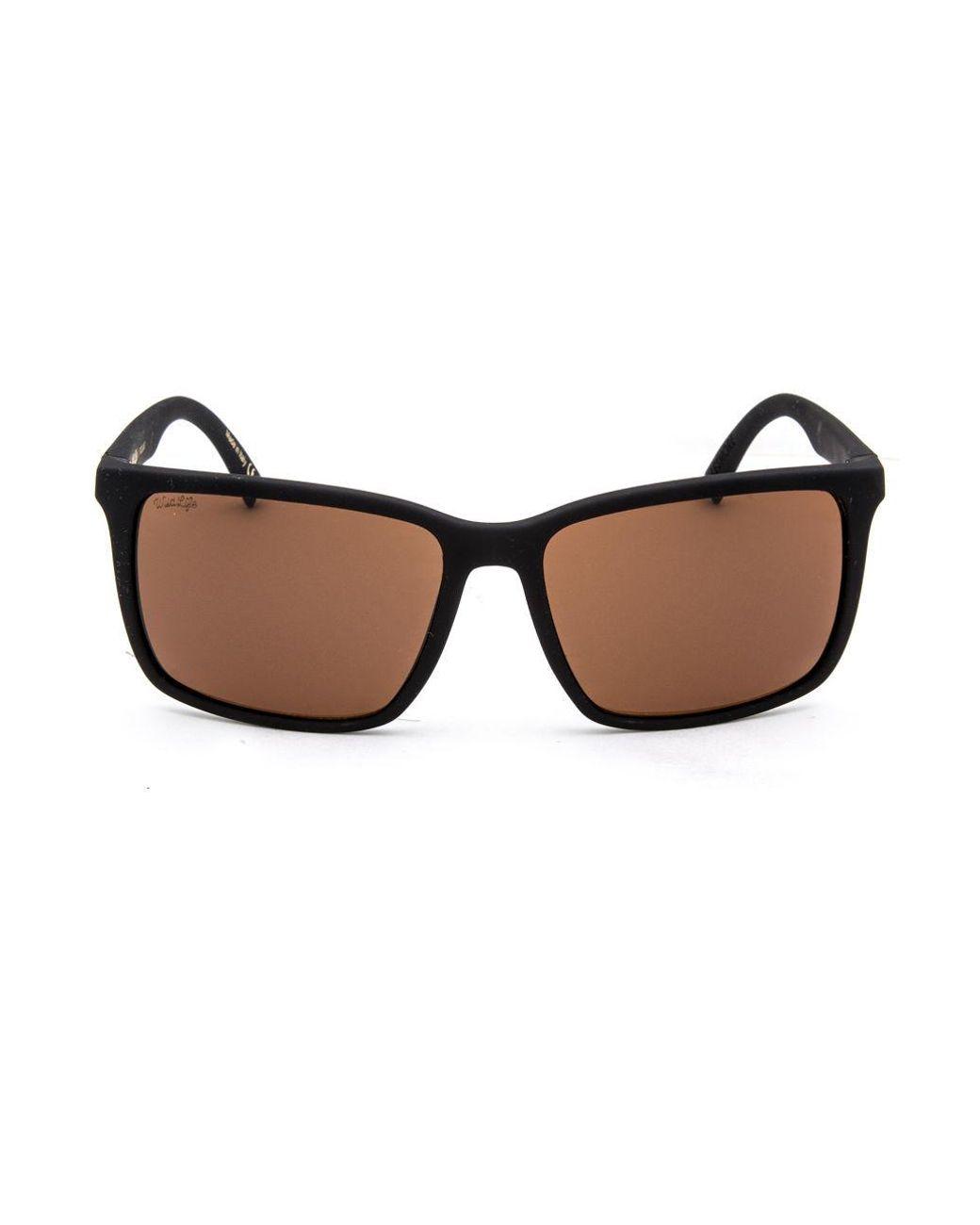 78206b5b0e Von Zipper Lesmore Wildlife Black Soft Satin   Bronze Polarized Sunglasses  in Black for Men - Lyst
