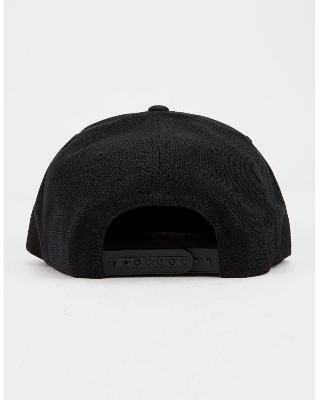 6995d7e7dacf41 Rip Curl Valley Badge Black Mens Snapback Hat in Black for Men - Lyst