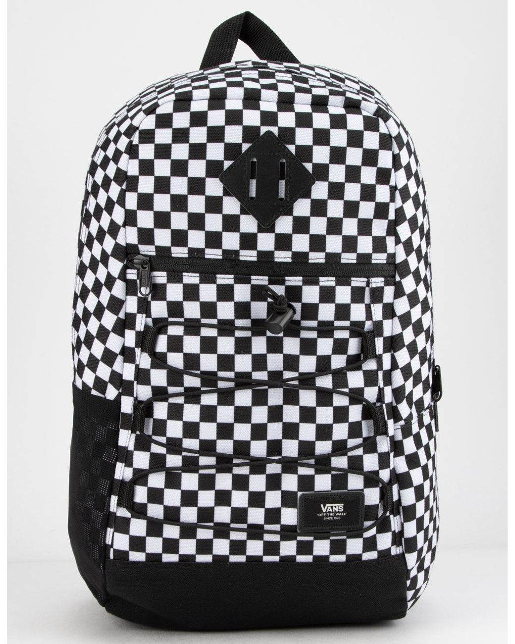 0a4a11b974c Black And White Checkered Backpack | Building Materials Bargain Center
