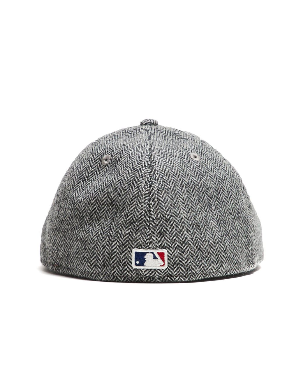 new style 65d0f 7fe19 NEW ERA HATS Exclusive New Era La Dodgers Hat In Abraham Moon Herringbone  Lambswool in Black for Men - Lyst