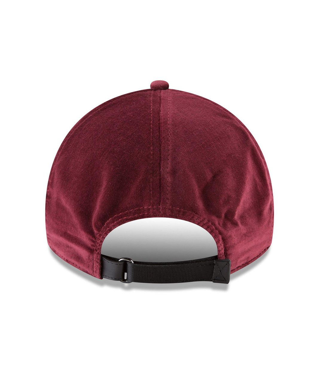 new arrival 98b4c 7396b NEW ERA HATS New Era Velvet 9twenty Cap In Maroon in Red for Men - Lyst