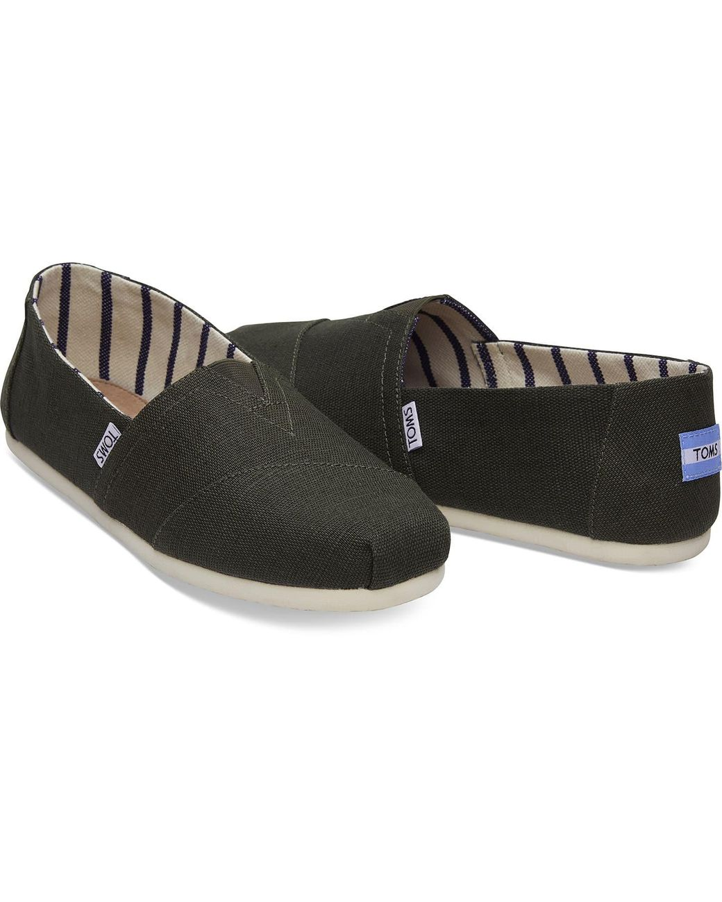 3d157f2b333 TOMS Pine Heritage Canvas Men s Classics for Men - Lyst