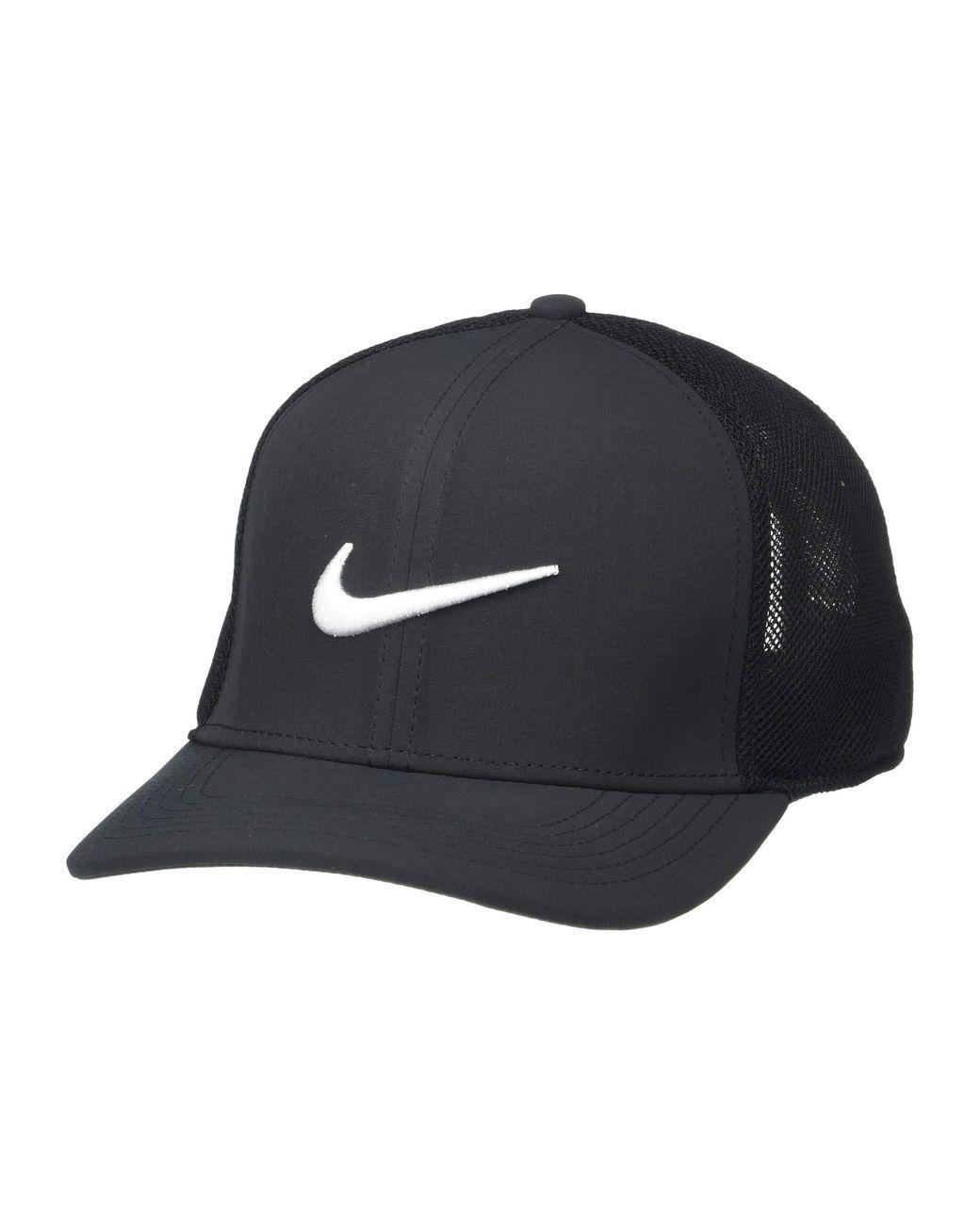 04a49478789cd Lyst - Nike Aerobill Classic99 Hat (black black white 2) Caps in ...