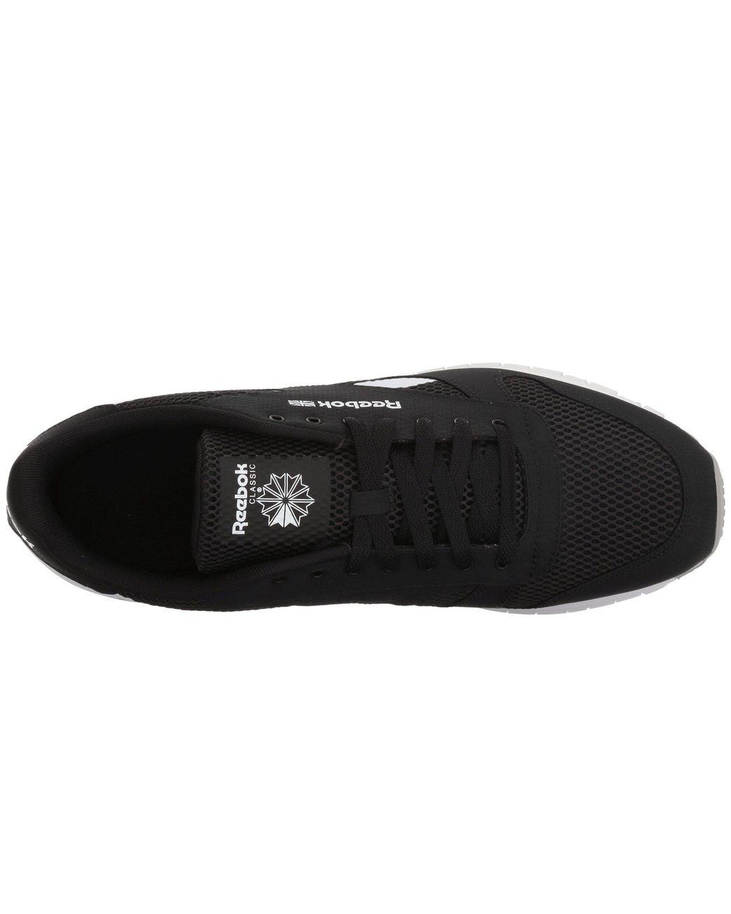 1633edf25847c Lyst - Reebok Classic Leather Mvs (black stark Grey white) Men s Classic  Shoes in Black for Men - Save 64%