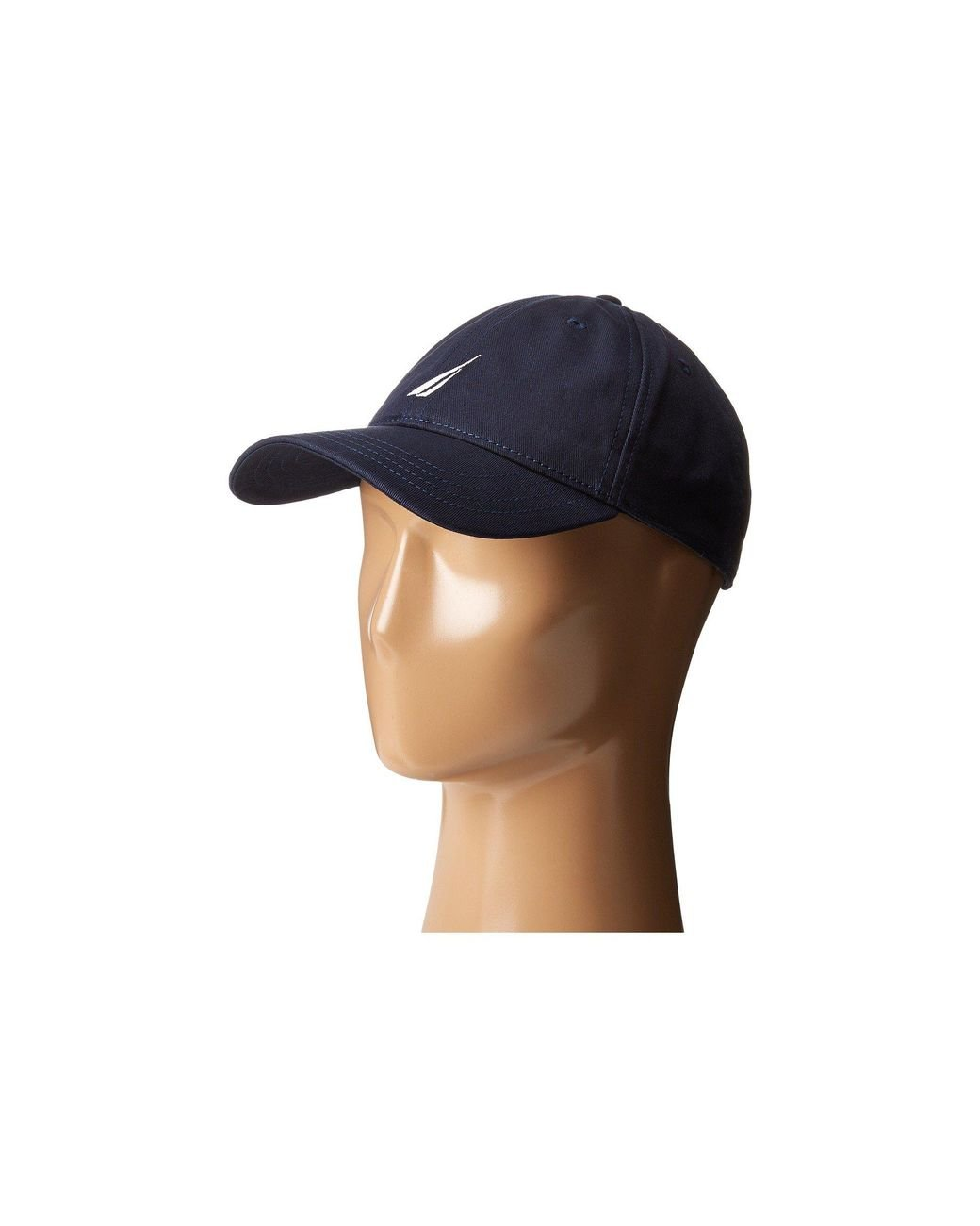 2bf10ba9aff1bf Nautica Chino Twill J-class Cap in Blue for Men - Lyst