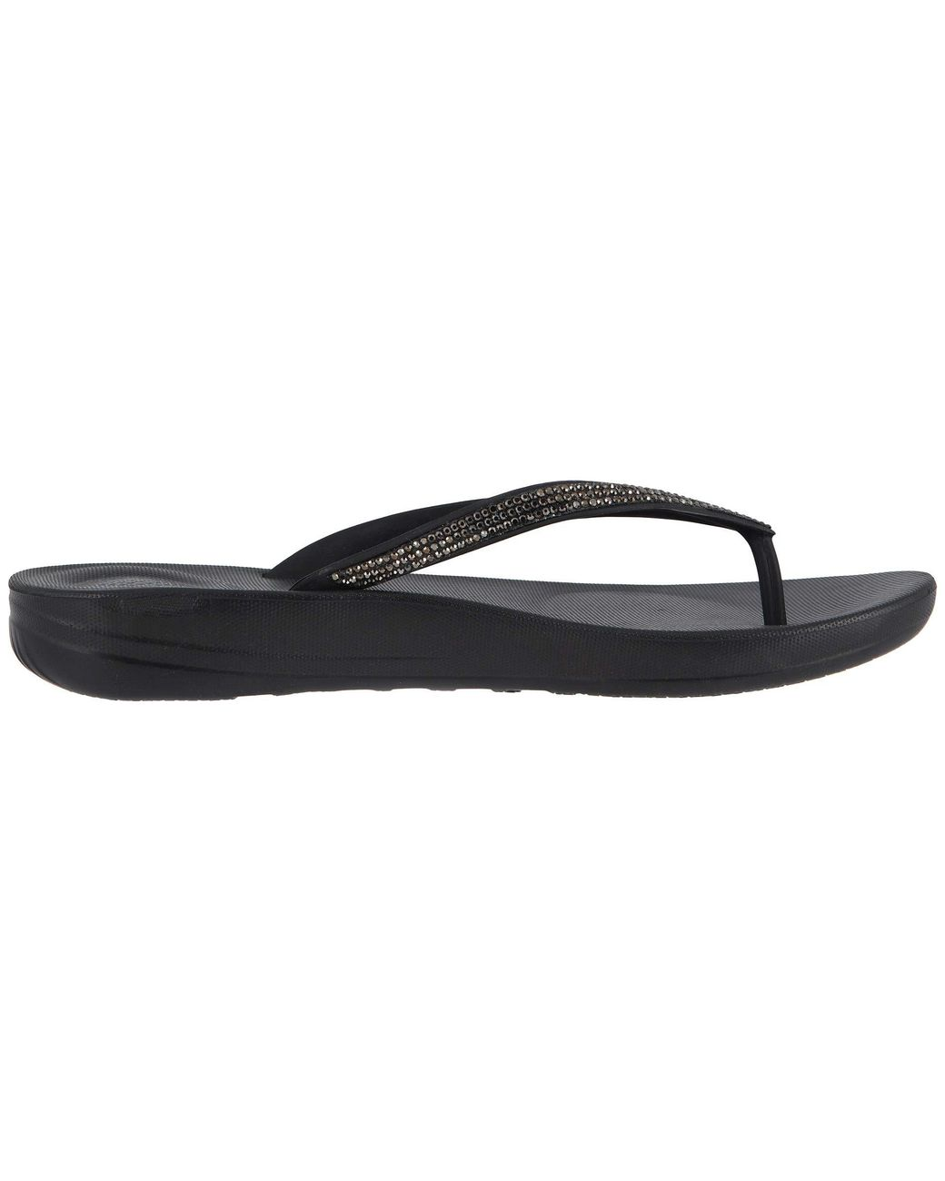 44491bc43 Lyst - Fitflop Iqushion Sparkle (black) Women s Shoes in Black