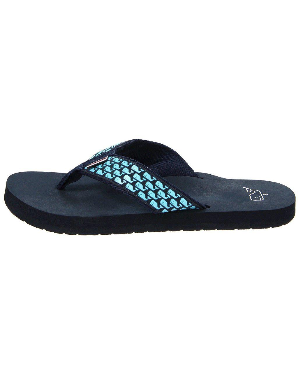 22c2324a2 Lyst - Vineyard Vines Whale Flip Flops (vineyard Navy) Men s Sandals for Men