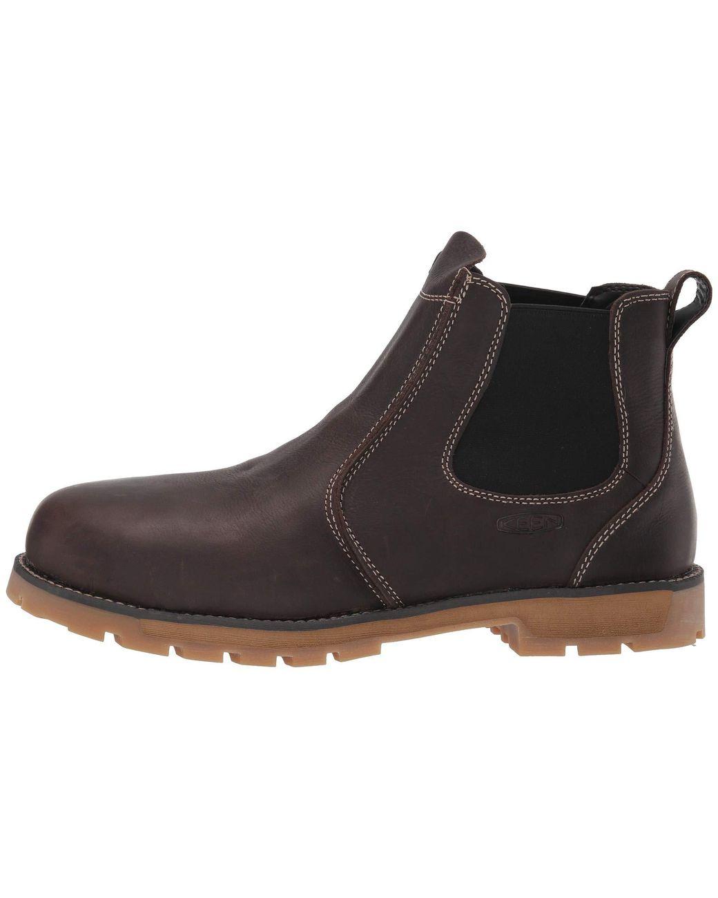 832d5817912d Lyst - Keen Utility Seattle Romeo Aluminum Toe (cascade Brown gum) Men s  Work Boots in Brown for Men