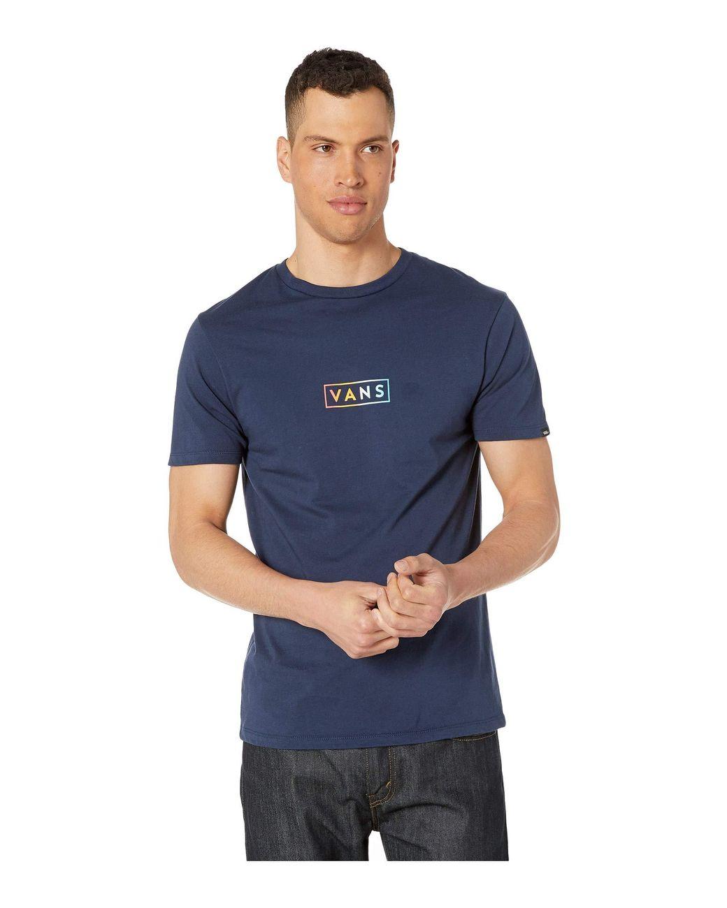 7e28fbd3 Lyst - Vans Easy Box Short Sleeve T-shirt (emberglow) Men's T Shirt ...