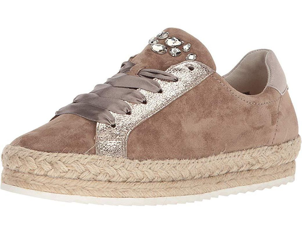 buy online 33f5a fc1dc Paul Green - Brown Randy Sneaker (antelope Gold Combo) Lace Up Casual Shoes  - Lyst