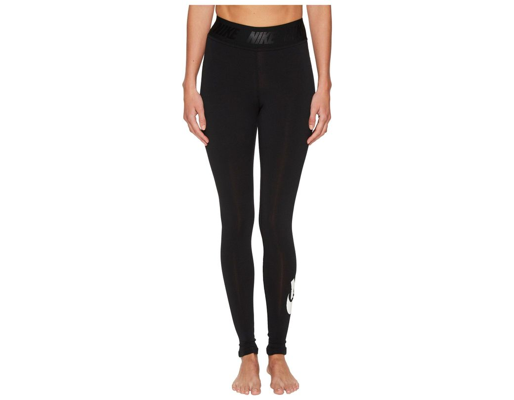 uk availability 4af99 56d49 Nike. Women s Black Sportswear Leg-a-see High Waist Legging