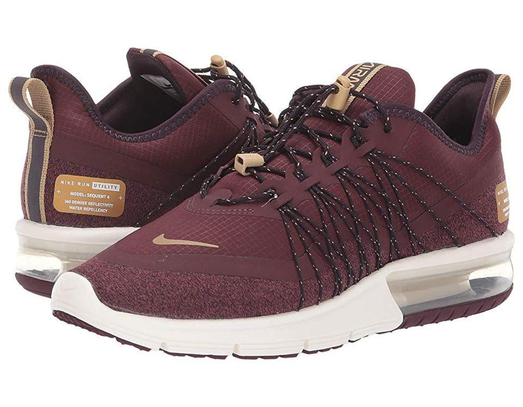 52b5dbe641 Nike Air Max Sequent 4 Shield Running Sneakers From Finish Line - Save 40%  - Lyst