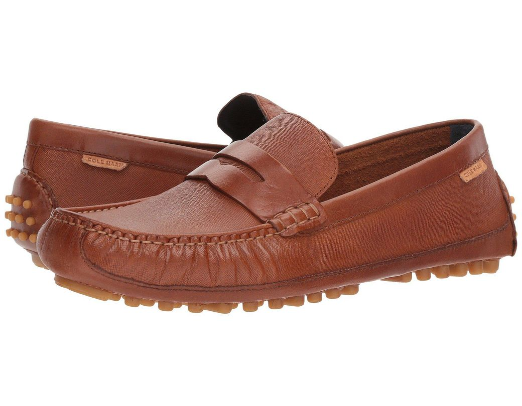 49d7e35ad Lyst - Cole Haan Coburn Penny Driver Ii in Brown for Men - Save 52%