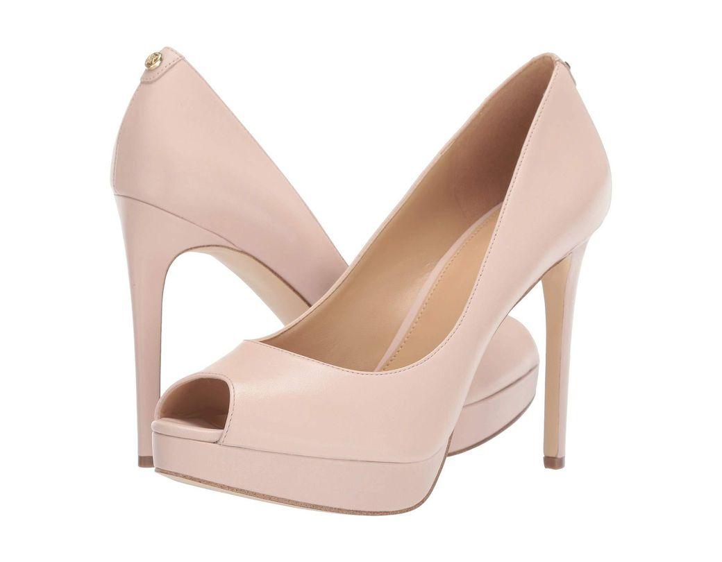 b08473706e98 Lyst - MICHAEL Michael Kors Erika Platform in Pink - Save 44%