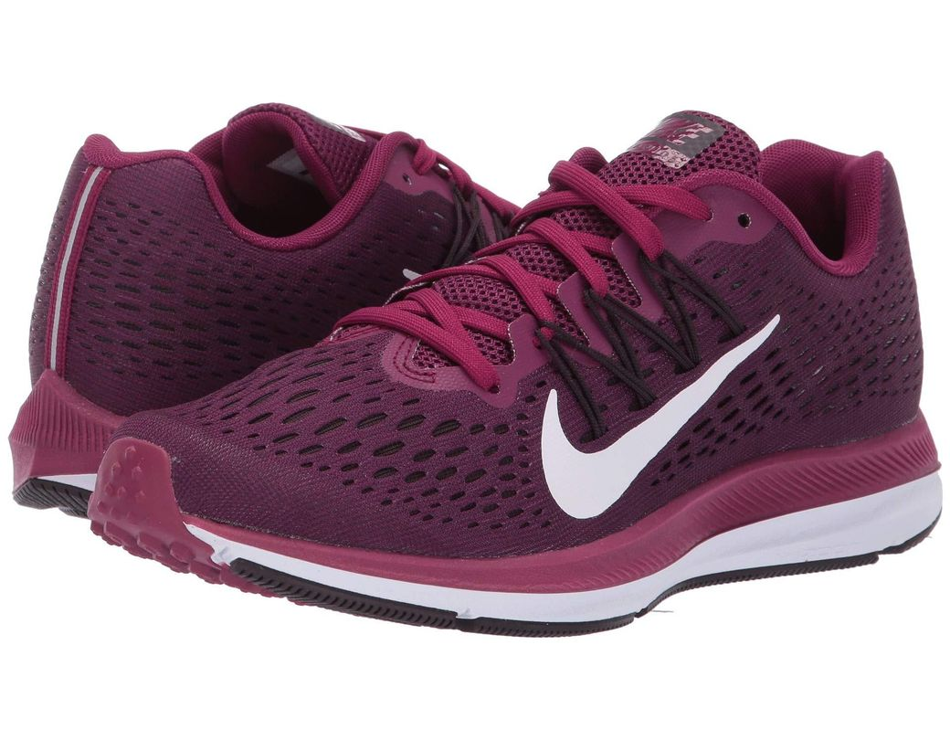 866aad9ad678 Lyst - Nike Air Zoom Winflo 5 Running Shoe in Purple - Save 39%