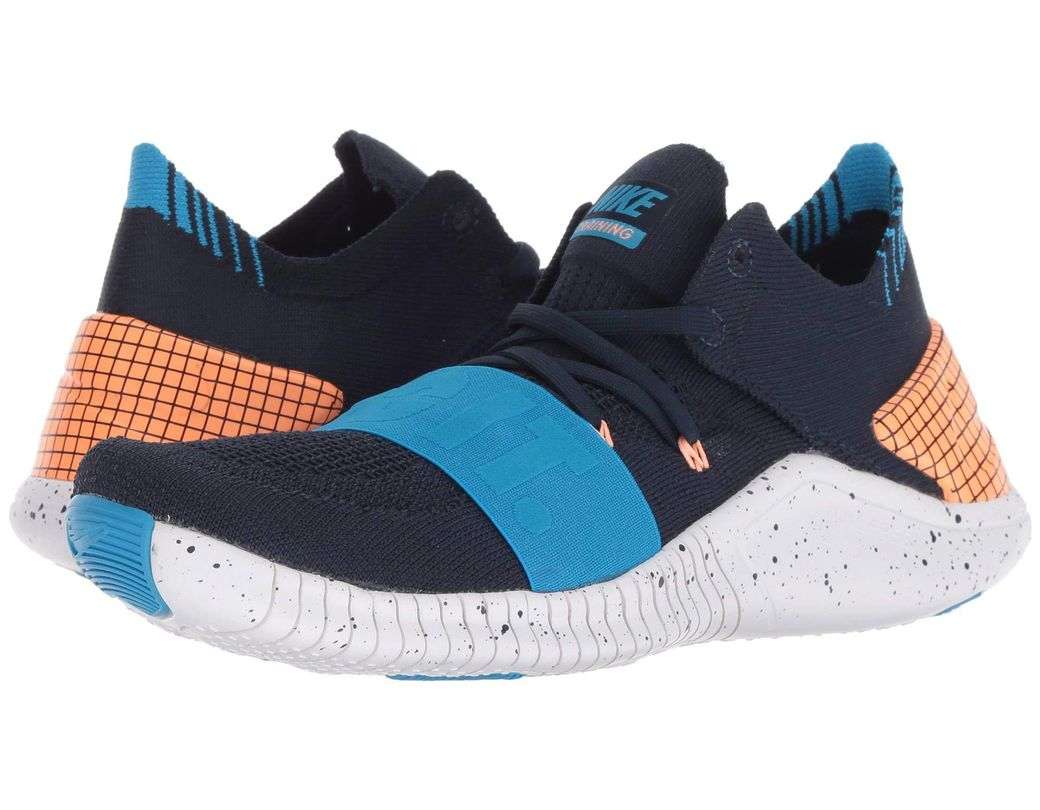 ef822a358a Lyst - Nike Free Tr Flyknit 3 Neo in Blue - Save 23%