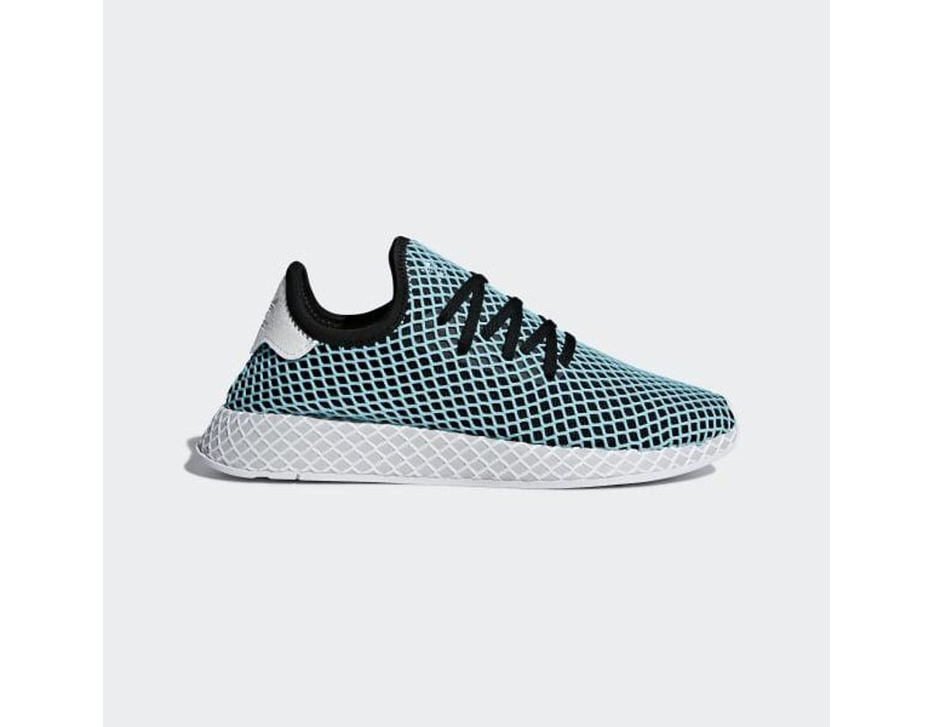 d5ac9df69072a Lyst - adidas Deerupt Runner Parley Shoes in Blue