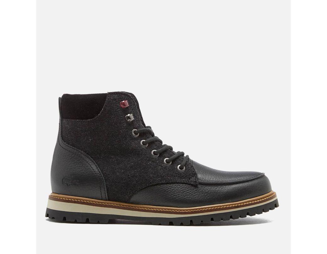 d08c10f67 Lyst - Lacoste Men s Montbard 316 2 Boots in Black for Men