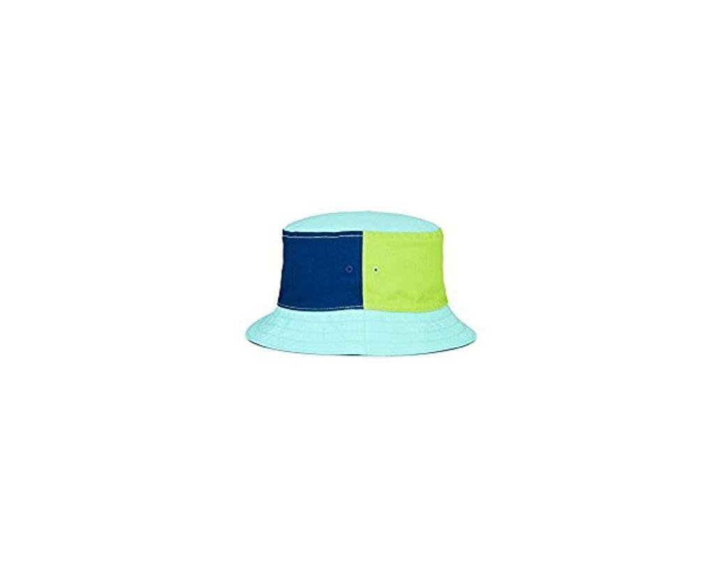 9f8a4f924f8b0c Nautica Logo Bucket Hat in Blue for Men - Save 71% - Lyst