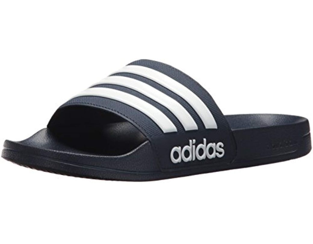 f73b4b58e Long-Touch to Zoom. Long-Touch to Zoom. 1  2  3  4  5  6  7. Adidas - Blue Adilette  Shower Slide ...