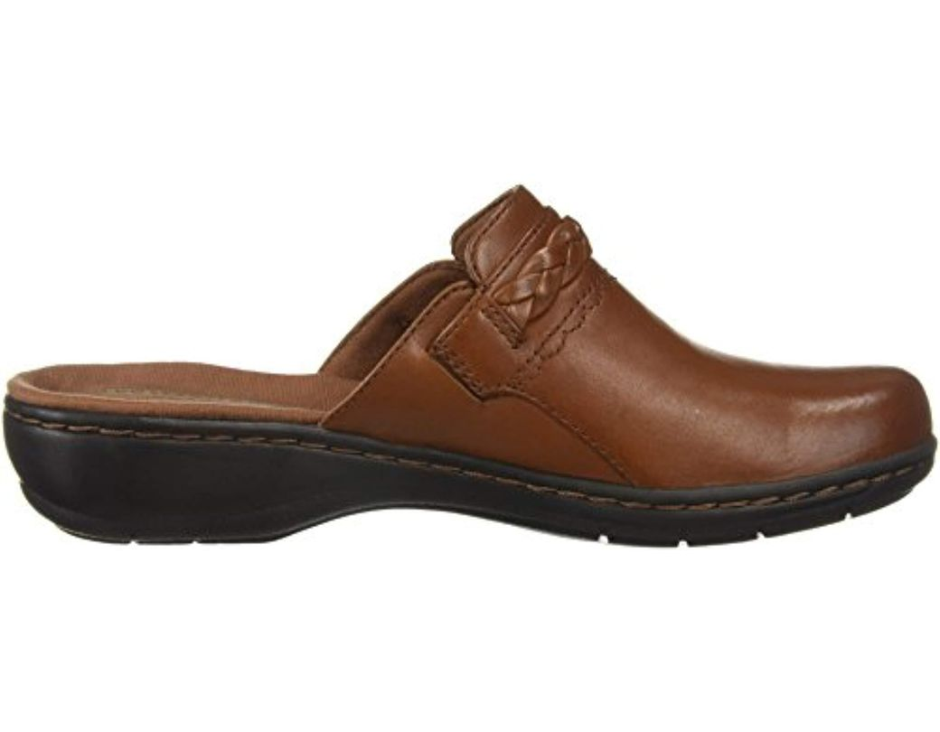 22f63fc8ad4 Clarks Leisa Carly Clog in Brown - Save 32% - Lyst