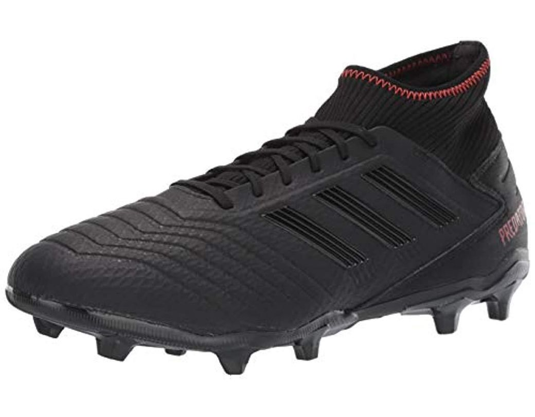 9a1d4e5dc Lyst - adidas Predator 19.3 Firm Ground Soccer Shoe in Black for Men