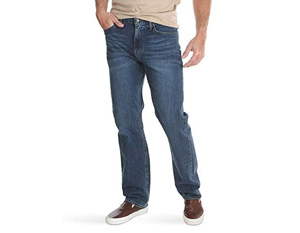 e70df6105a2 Wrangler Classic Five-pocket Regular Fit Straight Leg Jean in Blue for Men  - Save 24% - Lyst
