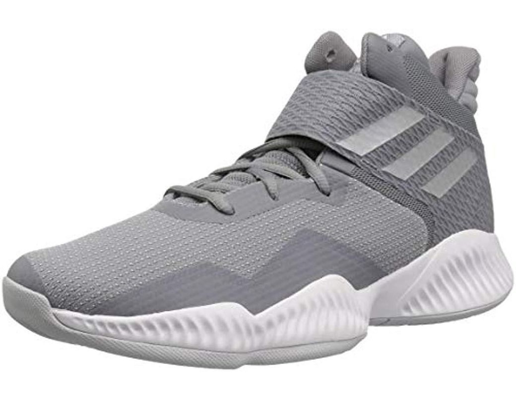 b7bb64e56 Lyst - adidas Explosive Bounce 2018 Basketball Shoe in Gray for Men