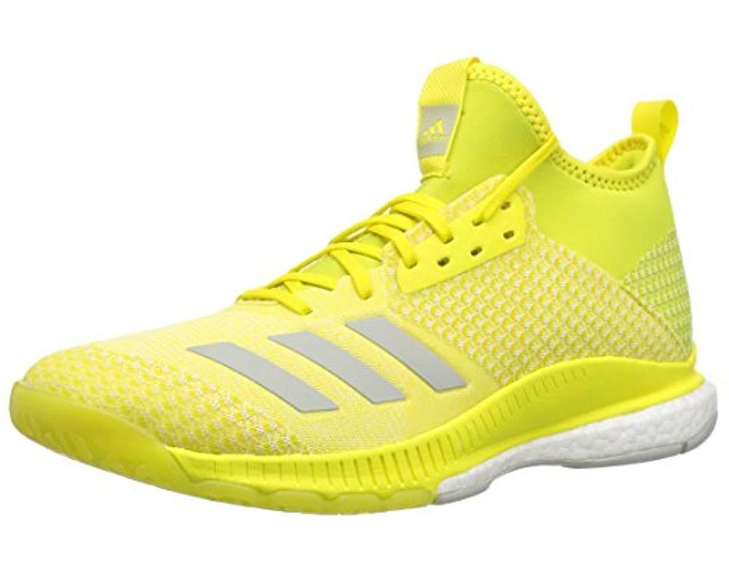 ba9a9718d2ff2 Lyst - adidas Crazyflight X 2 Mid Volleyball Shoe in Yellow