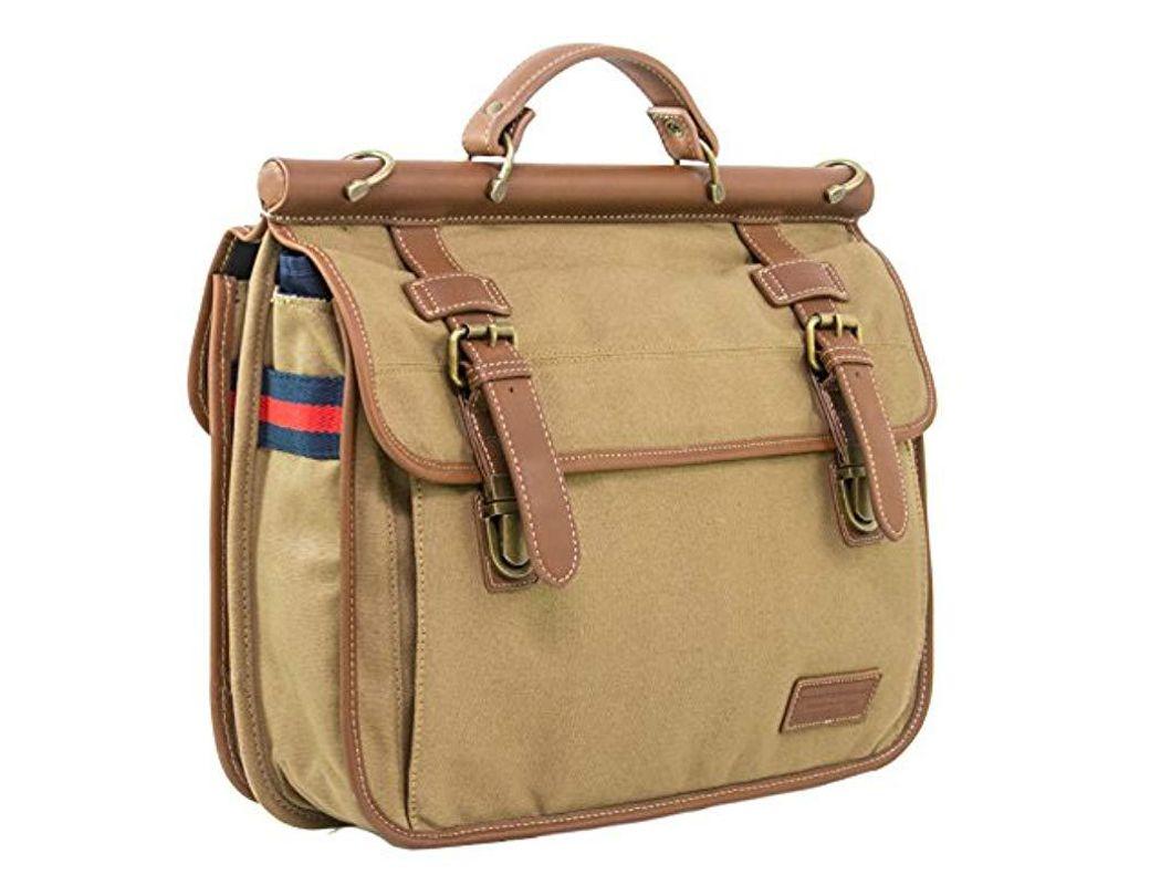 2cba61c655 Tommy Hilfiger Workhorse Dowel Flap-over Messenger Bag for Men - Save 22% -  Lyst