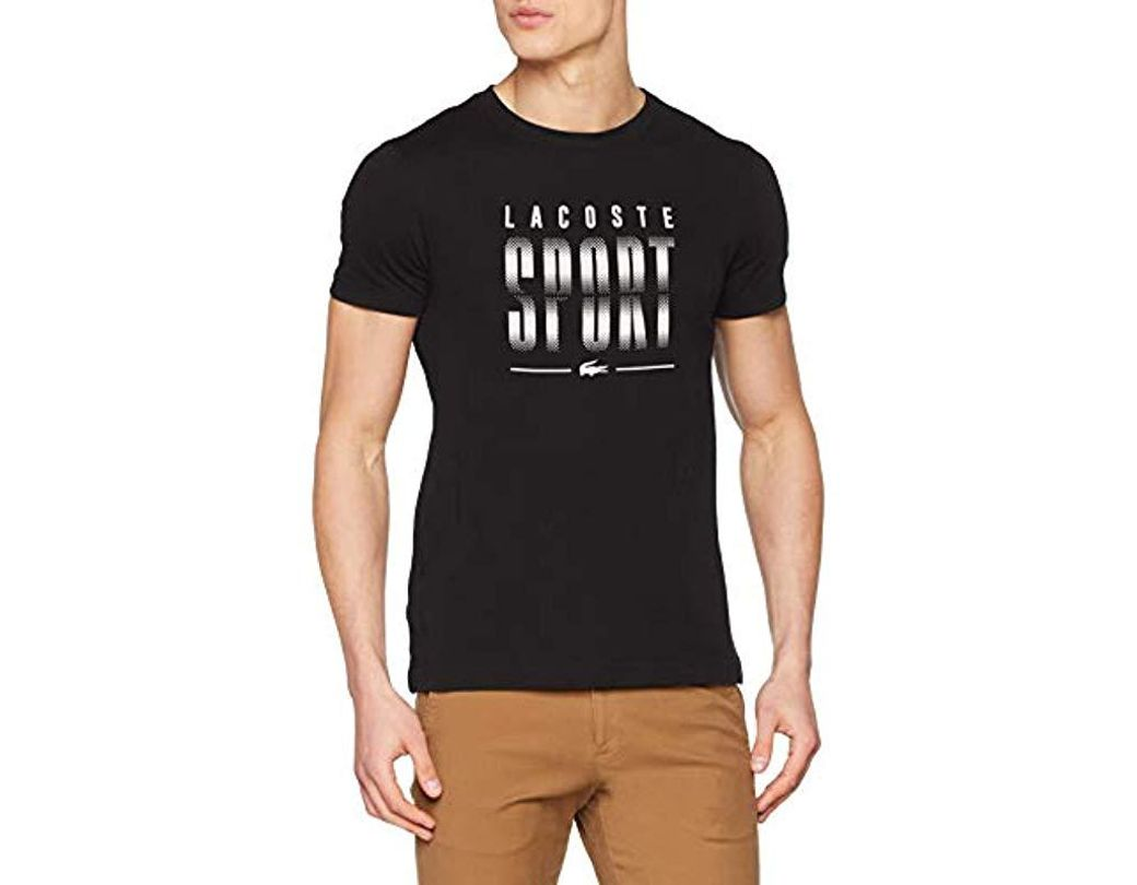 9800578fc Lacoste T-shirt in Black for Men - Lyst