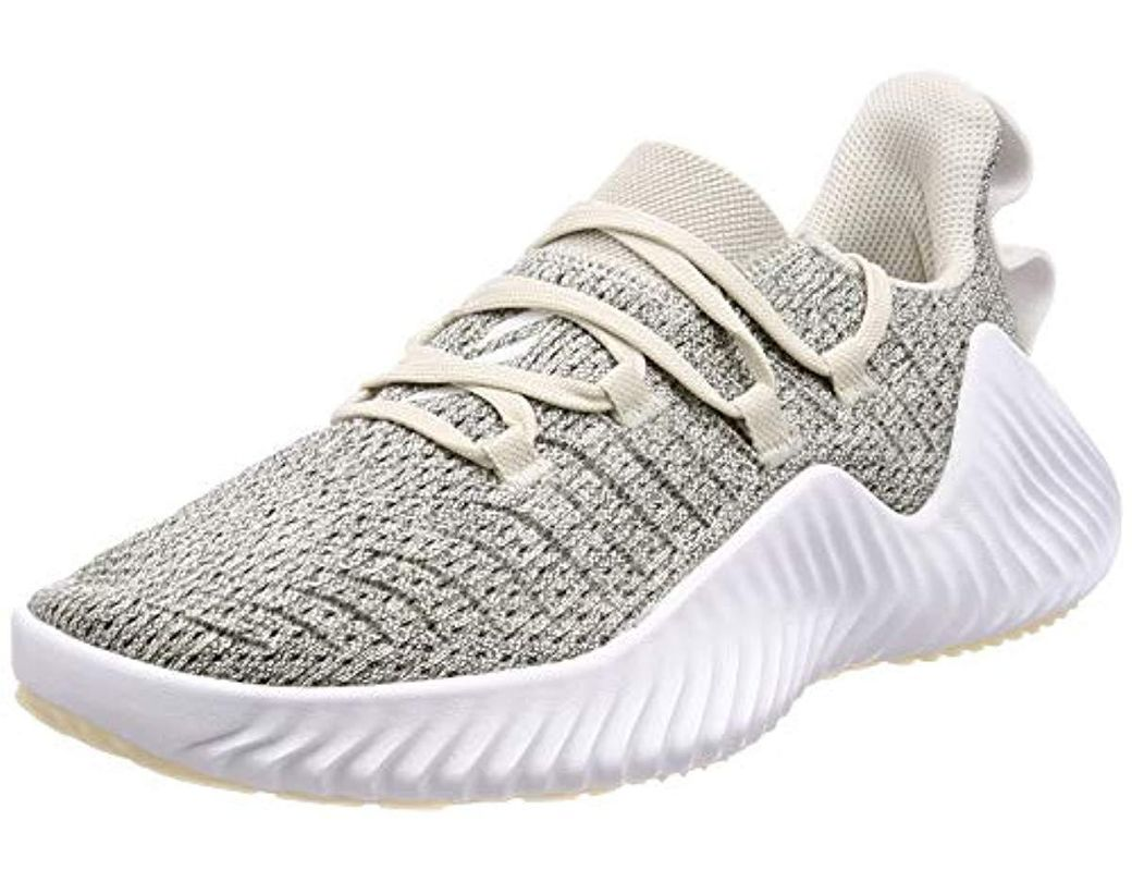 0b5cdf5aa adidas Alphabounce Trainer W Gymnastics Shoes in White - Lyst