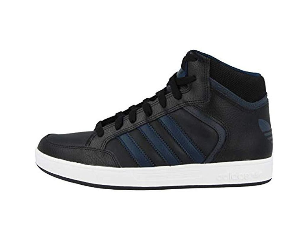 5022ac6e6 adidas Varial Mid Hi-top Trainers in Blue for Men - Lyst