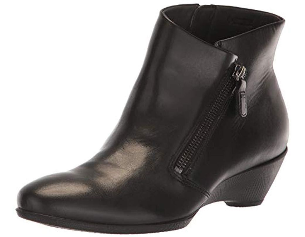 best sneakers dcfa4 7dfaa Ecco Sculptured 45 Ankle Boots in Black - Lyst