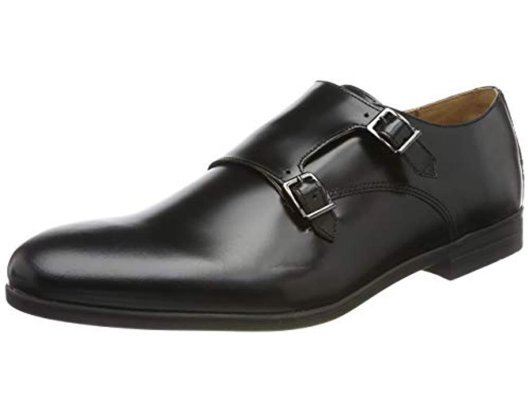 57c12ac85373a Hudson Jeans Chislehurst Hi Shine Loafers in Black for Men - Lyst