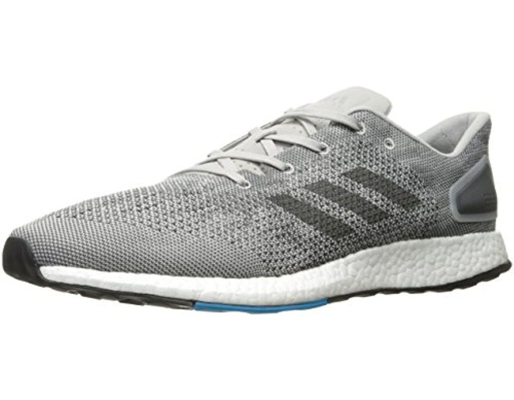 5ed223d22 Lyst - adidas Pureboost Dpr Running Shoe in Gray for Men - Save 14%