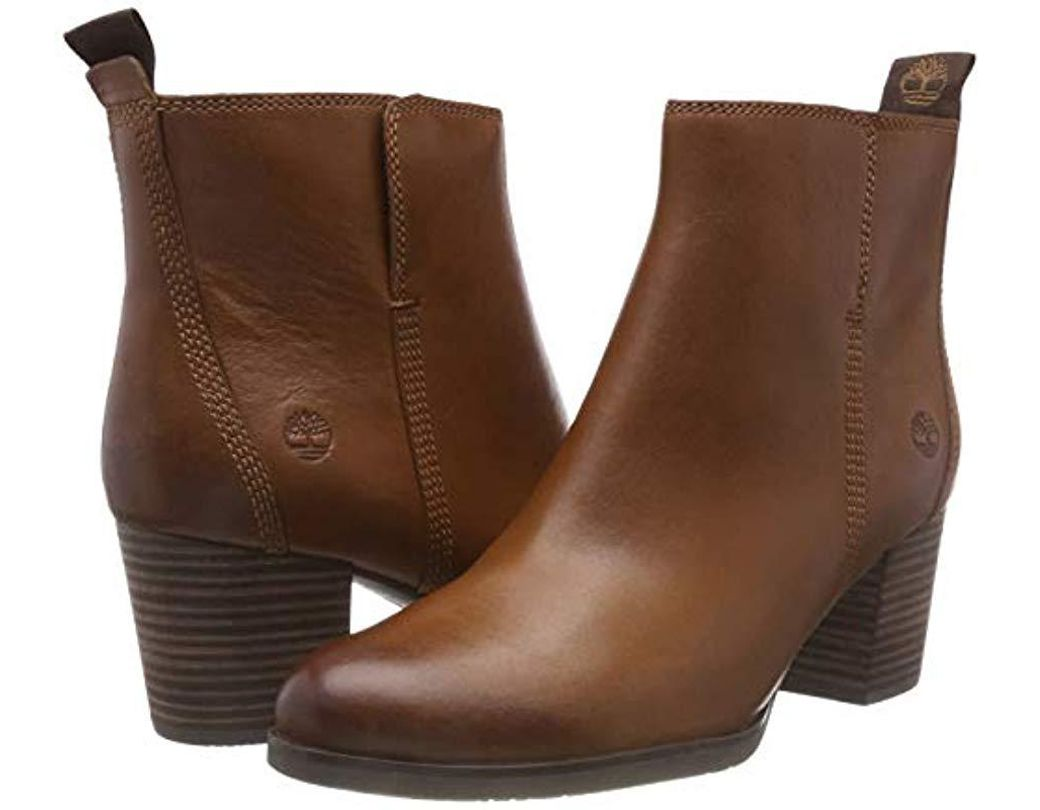 b700ee7b96d Timberland Eleonor Street Ankle Boots in Brown - Save 33% - Lyst
