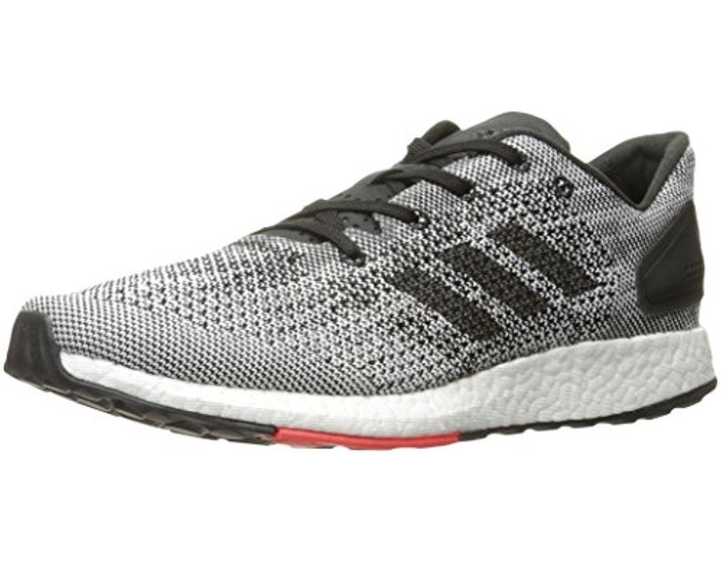 28b909988d5a2 Lyst - adidas S80993 Men Pureboost Dpr Black White in Black for Men ...