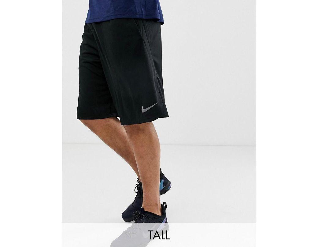 8885c5e98d932 Nike Tall Dry 4.0 Shorts In Black 890811-010 in Black for Men - Lyst