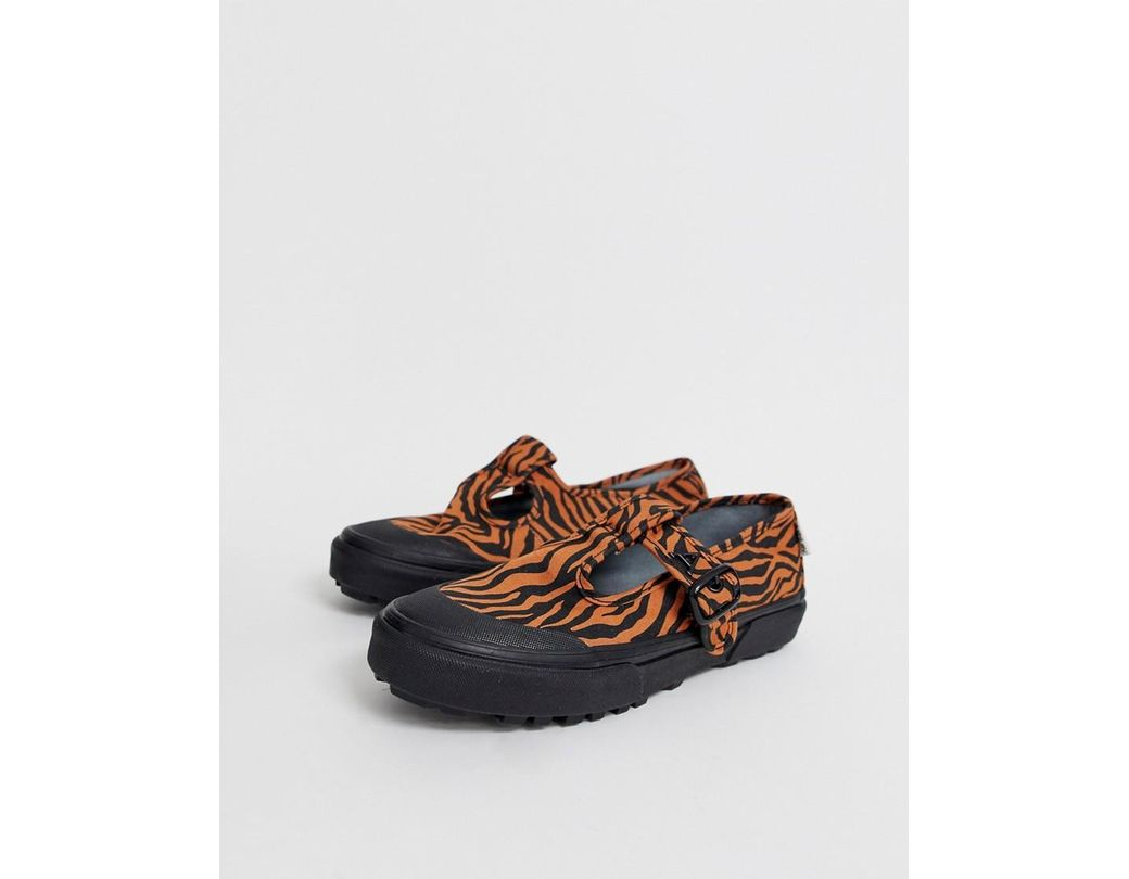 2b1acaef40c Vans. Women s X Ashley Williams Style 93 Tiger Print Trainers
