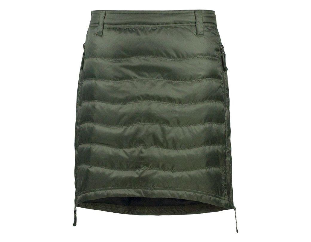 1ba3b95f80 SKHOOP Short Down Skirt in Green - Lyst