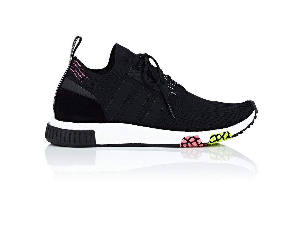 45f70e491 Lyst - adidas Nmd Racer Primeknit Sneakers in Black for Men - Save 62%