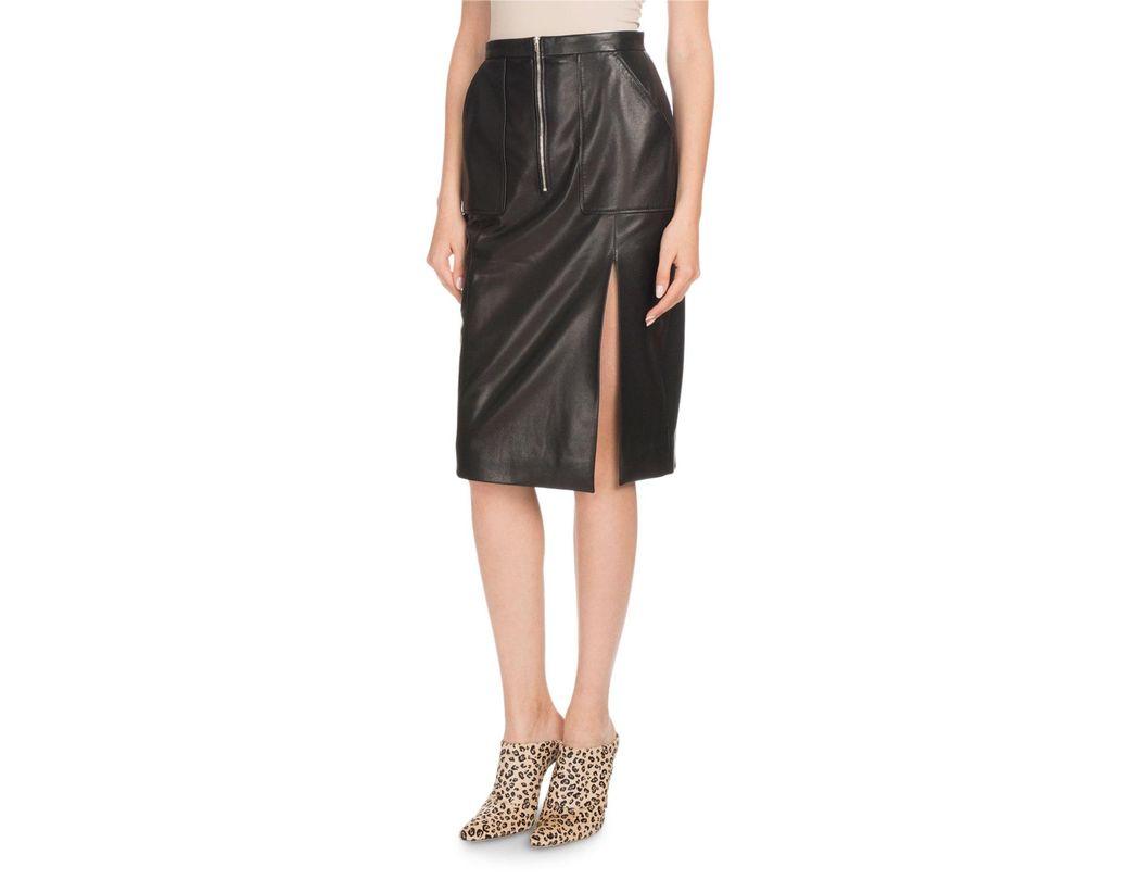 13f98f15f High Waisted Calf Length Pencil Skirt – DACC