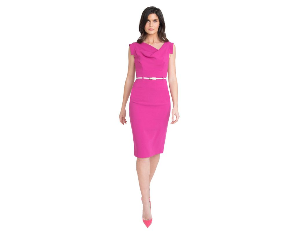 5a0aa06ce34 Long-Touch to Zoom. Long-Touch to Zoom. 1  2. Black Halo - Pink Jackie O  Dress ...