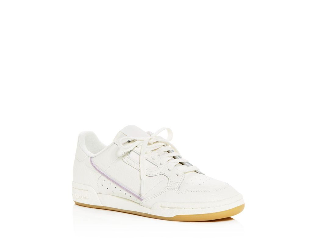cfca4c7649feb Lyst - adidas Women s Continental 80 Low-top Sneakers in White ...