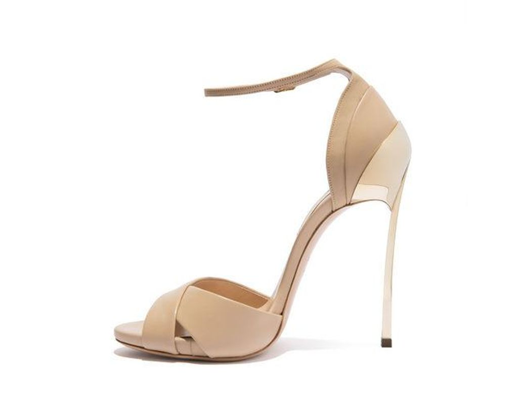 34aacfbe98 Casadei Techno Blade in Natural - Lyst