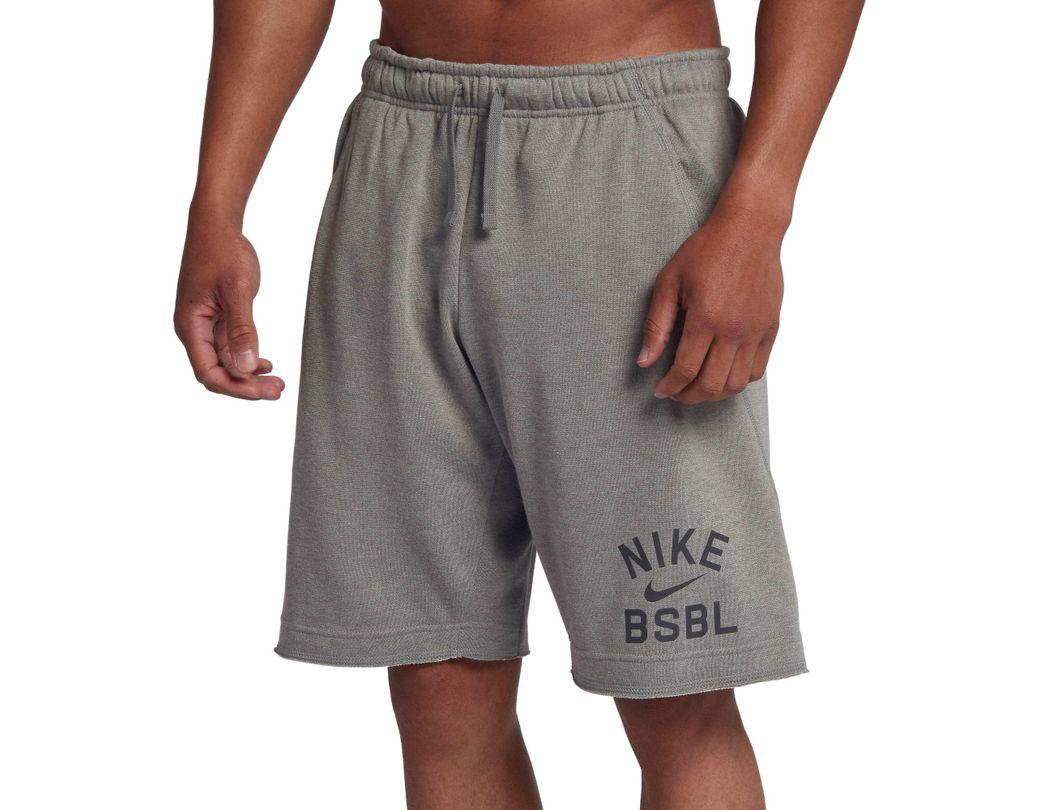 e216af4079387 Lyst - Nike Flux Baseball Shorts in Gray for Men