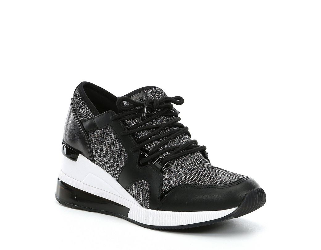 7fd679f51231 Lyst - MICHAEL Michael Kors Liv Trainer Extreme Sneakers in Black