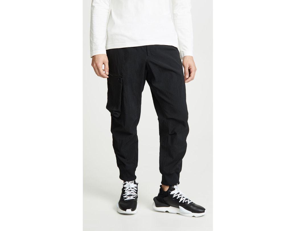 2d569c74b79f1 Lyst - Y-3 M Nylon Cargo Pants in Black for Men